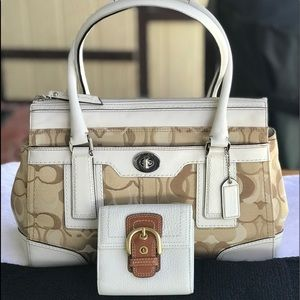 Coach L0773-11818 satchel w/Wallet